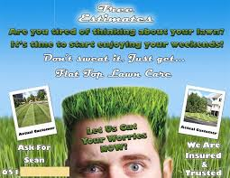 Landscaping Advertising Ideas 16 Best Lawn Care Flyers Images On Pinterest Lawn Care Business