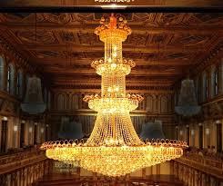 House Chandelier Penthouse Floor Golden Chandeliers Floor Building In The Living