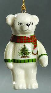 spode tree ornament heralding is coming