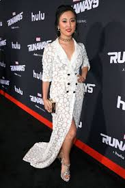 lyrica anderson father lyrica okano at runaways premiere in los angeles 11 16 2017