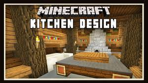 Ranch Kitchen Design by Minecraft Kitchen Design Ideas How To Build A House Part 9