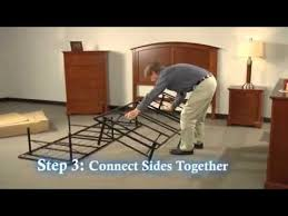 Metal Platform Bed Frames Metal Platform Bed Frame Youtube