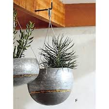 wall hanging planters roost braza tall wide hanging planters u2013 modish store