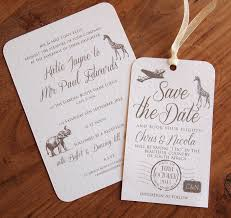 wedding invitations south africa safari wedding invitations stationery paper pleasures wedding