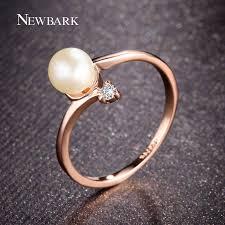 rose color rings images Buy newbark fashion rose gold color 1pcs jpg