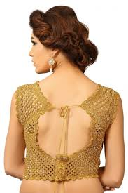 golden blouse soothing golden color fancy designer blouse from kalaniketan com