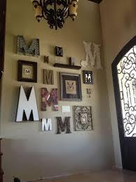 stylish decoration letters wall decor nice ideas large wood wall