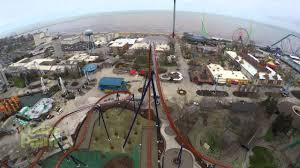 valravn dive roller coaster pov at cedar point youtube