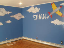 airplanes biplane plane clouds sky mural hand painted clouds and airplanes biplane plane clouds sky mural hand painted clouds and airplane mural