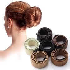 hair bun maker synthetic wig donut headband women hair accessories girl magic