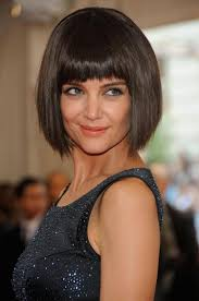 mystery of katie holmes u0027 short bob is solved ny daily news