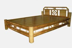 quality bamboo and asian thatch bamboo bed adorn natural