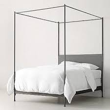 Metal Canopy Bed Heirloom White Demilune Metal Canopy Bed Crown