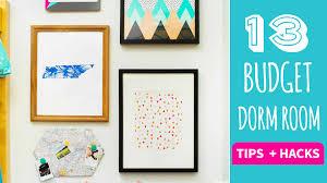 Bedroom Design Tips On A Budget 13 Tips And Hacks For Dorm Decor On A Budget Hgtv Handmade Youtube