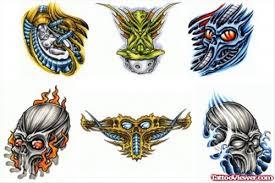 colored biomechanical tattoo designs tattoo viewer com