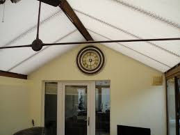 pleated conservatory roof blinds marquesa blinds