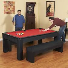 Smart Pool Table Hathaway Park Avenue 7 Foot Pool Table Tennis Combination With