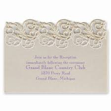 ceremony cards for weddings wedding reception cards best of vintage escape laser cut reception