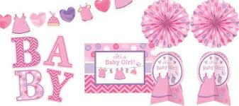 baby showers for girl it s a girl baby shower decorations party city
