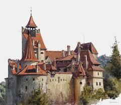bran castle by vladgheneli on deviantart