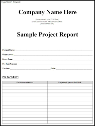 Project Reporting Template Excel Project Report Template Word Excel Formats