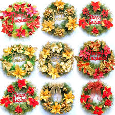 Wholesale Decorations For Christmas Wreaths by Online Get Cheap Wholesale Christmas Wreaths Aliexpress Com