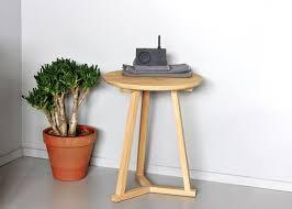 Tripod Side Table Ethnicraft Oak Tripod Side Table
