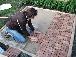 How To Lay Patio Pavers by Our New Patio Bungalow Bungahigh
