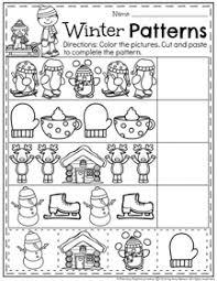 january preschool worksheets planning playtime