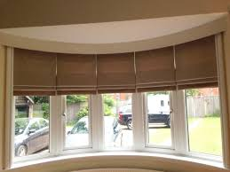 vignette modern roman shades in bay windows for sale at two blind bay window blinds lowes about bay window blinds