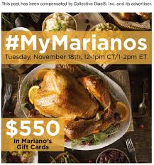 join us for mymarianos planning on november