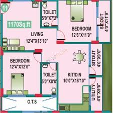 bedroom property for sale in charlotte way peterborough epc rating