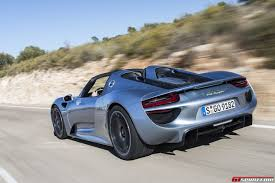 Porsche 918 Blue - road test 2014 porsche 918 spyder review
