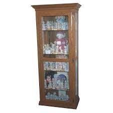 Mission Style Curio Cabinet Plans Woodworking Project Paper Plan To Build Precious Moments Curio