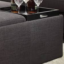 marvellous inspiration ideas dark gray ottoman amazing big deal on