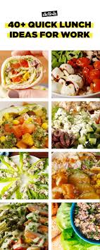 40 lunch ideas for work recipes for fast work lunches