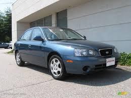 2003 hyundai elantra 2003 blue hyundai elantra gls sedan 16387568 gtcarlot com