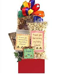 thank you gift basket baby shower hostess thank you gift basket gourmet