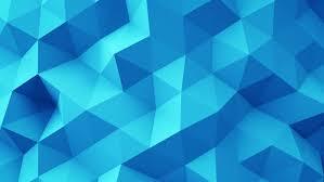 blue shimmering flashing triangles pattern geometric