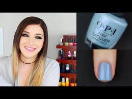 opi iceland fall winter 2017 nail polish swatch review kelli