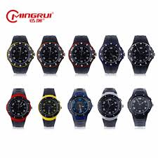 women rubber watch designer brand promotion shop for promotional