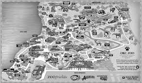 Smithsonian Zoo Map 2013 Zoo Map Zoochat Ventura College Campus Map