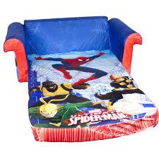 flip out sofa bed marshmallow spider man flip open sofa walmart com