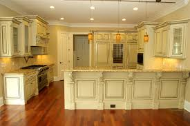 How To Antique Paint Kitchen Cabinets Antique Glazed Cabinetry Traditional Kitchen Atlanta By
