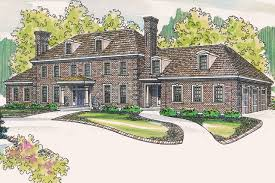 Colonial Style Home Plans Edgewood 30 313 Estate Home Plans Associated Designs