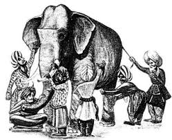 Blind Man And Elephant The Blind Men And The Elephant Aikido No Sekai