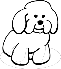 puppy clipart coloring book pencil color puppy clipart