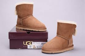 ugg bailey knit bow sale cheap ugg womens mini bailey knit bow boots 1007980 chestnut for sale