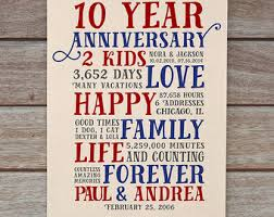 10 year anniversary gift for 10th anniversary ebay amazing 10 year wedding anniversary gifts