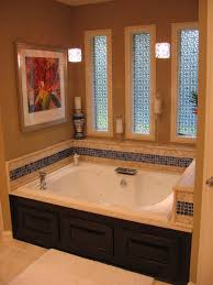 bathroom cozy kohler whirlpool tubs with frosted glass windows